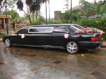 Wedding Limo in Nairobi, Kenya