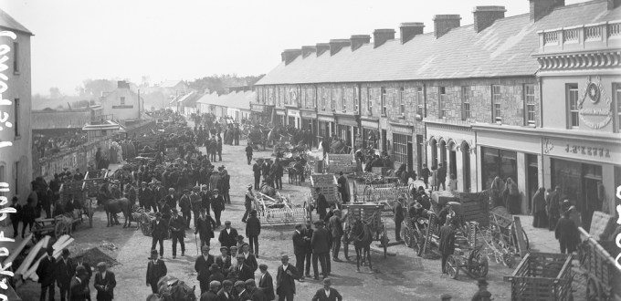 Market Day, Listowel, County Kerry