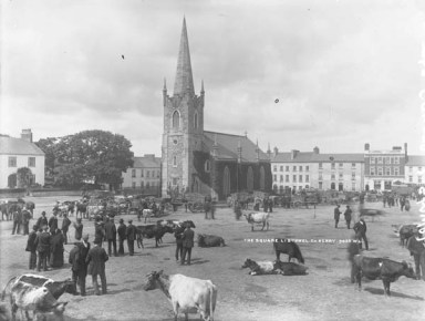 The Square, Listowel, Fair Day