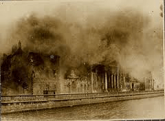 MKA Burning of the Four Courts P.Rec Office