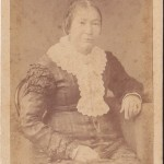 Catherine Moriarty in old age.