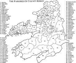 County Kerry Civil Parishes