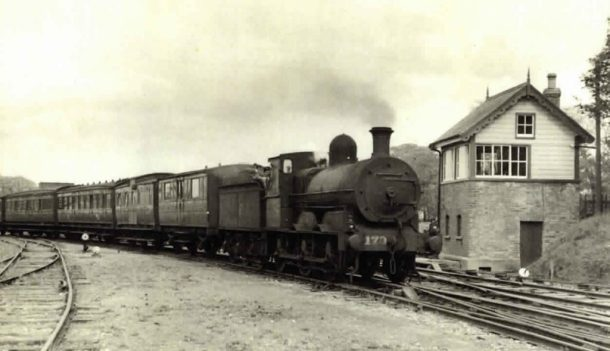 Train Killorglin to Cahirciveen 1958