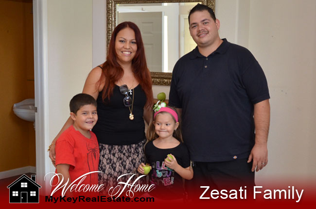 Real Estate Purchase Happy Clients Redlands California