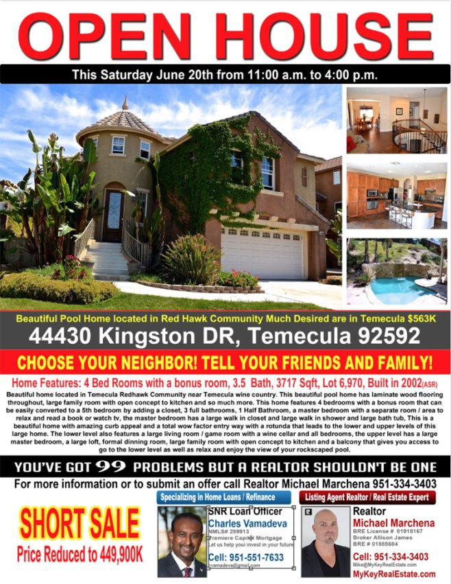 open house 44430 kingston dr temecula ca