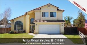 Home for sale - 1362 Mia Ct Redlands California 92374