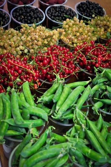 Arándanos y Guisantes - Blueberries and Peas