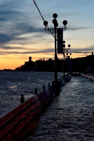 El bulevar está inundado - The boulevard is flooded