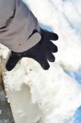 Una muestra, un bloque de hielo levantado de más de 20 cm de grosor - A sample, one ice layer of over 20 cm thick