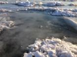 Queda poca nieve, la mayoría es hielo - There is little snow left, most is ice