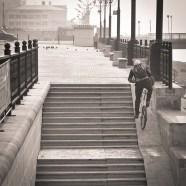 2012-11-05 - Khabarovsk - Subiendo las Escaleras