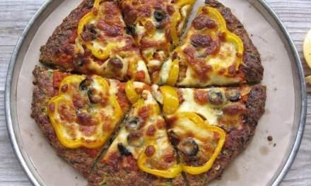 低碳西葫芦饼皮披萨