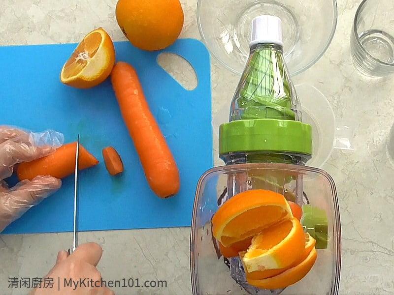 柳橙胡萝卜汁