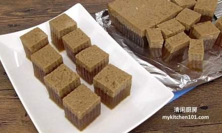 椰奶黑糖燕菜糕