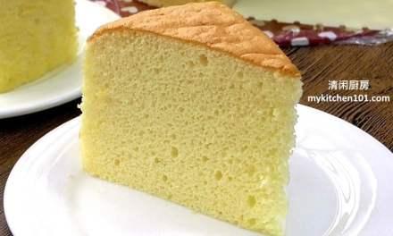 基本香草海绵蛋糕