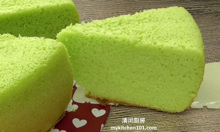 电饭锅版香兰海绵蛋糕