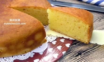 无蛋香橙优格(酸奶)蛋糕