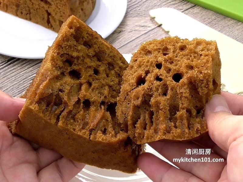 黑糖马来糕-酵母版