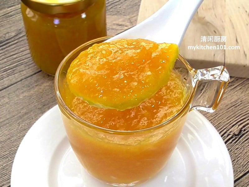 自制香橙果酱
