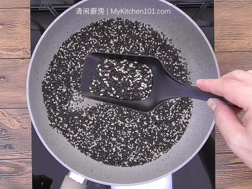 黑芝麻汤圆