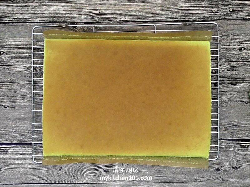 香兰瑞士卷蛋糕