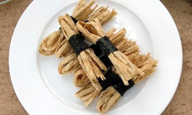 香脆烤海苔鱼丝(紫菜鱼丝) – 无需油炸不油腻