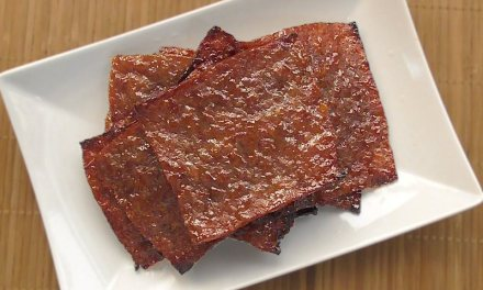 Homemade Bak Kwa (Chinese Pork Jerky)