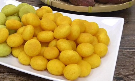 How to Make Taiwan Signature Sweet Potato Ball