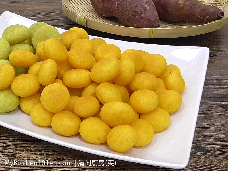 How to Make Taiwan Sweet Potato Ball