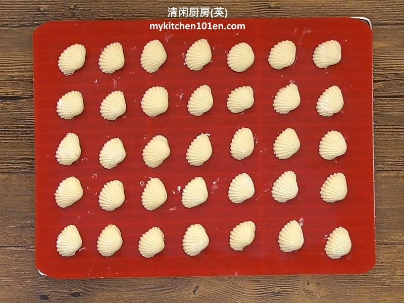 Kuih Bangkit (Coconut Cream Cookies)