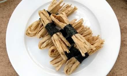 Crispy Roasted Seaweed Fish Strips Snack