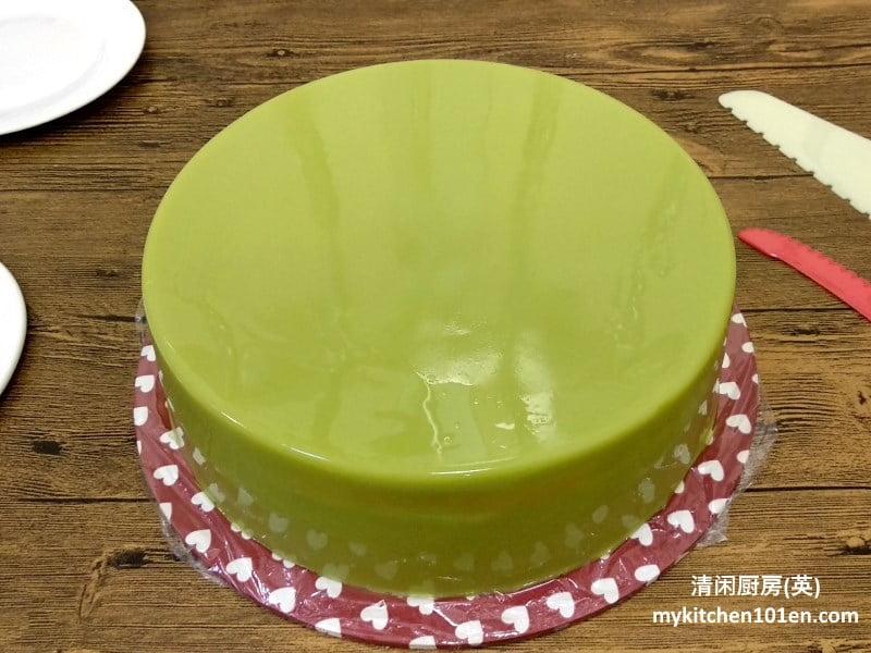 Pandan Layered Cake