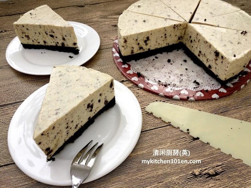 No-Bake/Chilled Oreo Cheesecake