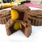 Chocolate Agar-Agar Jelly Mooncakes