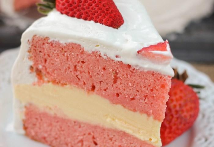 Strawberry Ice Cream Cake My Kitchen Craze