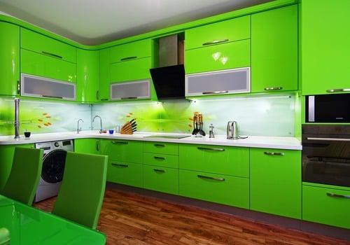 отделка кухни пластиковыми панелями фото дизайн 6