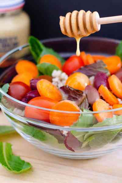 Honey Dijon Summer Salad