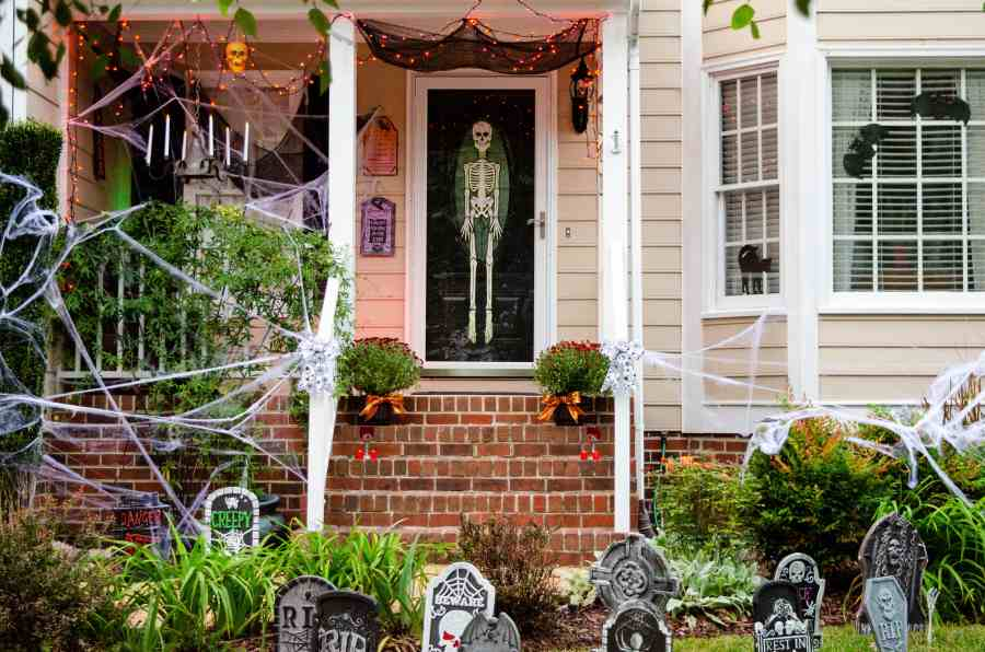 Outdoor Halloween Decorating Ideas My Kitchen My Craft