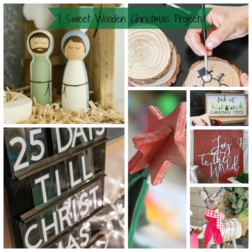 7 Wooden Crafts for Christmas