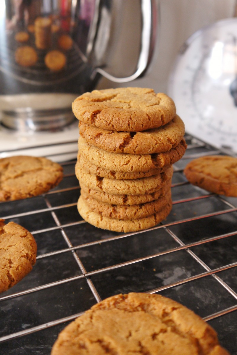Ginger and Cinnamon Biscuits - My Kitchen Drawer