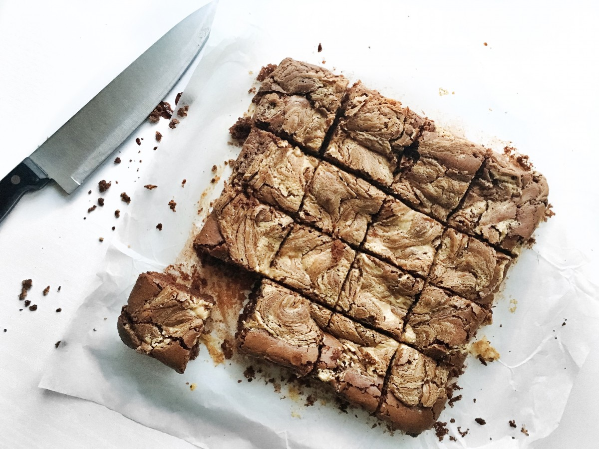 Peanut Butter Brownies 2