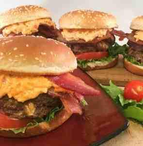 blue cheese stuffed burger mykitchenserenity