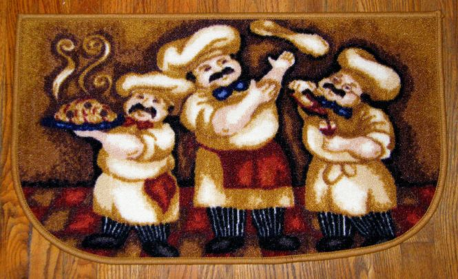 10 Photos To Fat Chef Kitchen Rugs