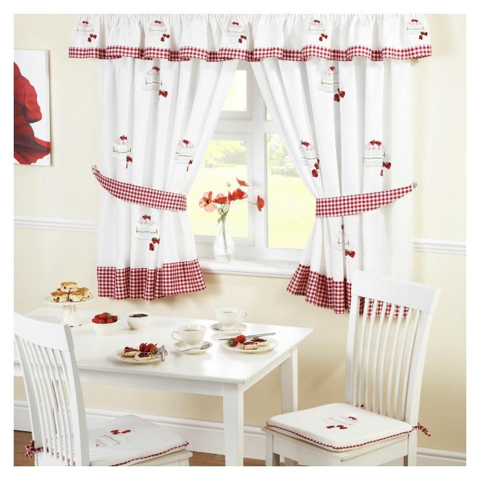 Gingham Kitchen Curtains Kitchen Ideas