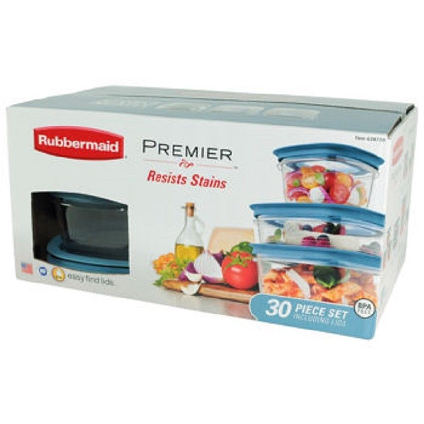 Rubbermaid Storage Container Sets