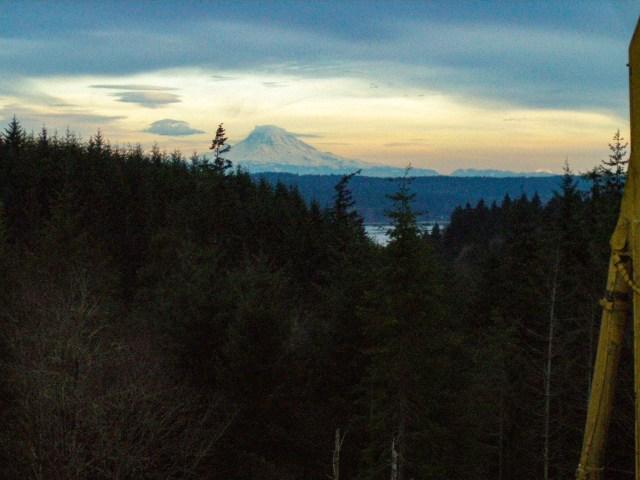 Mt. Rainier and Hood Canal Views