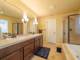 Five piece Master bath suite
