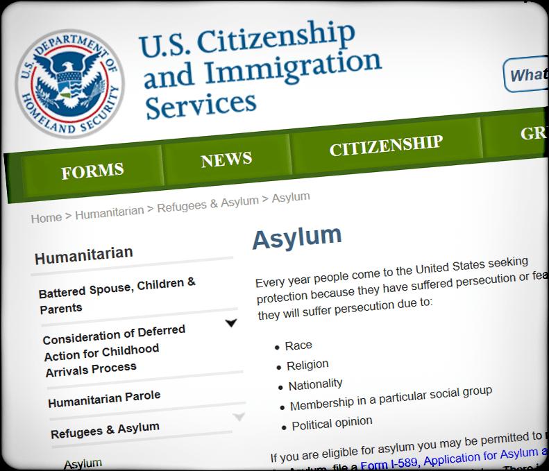 在美国申请庇护 – 庇护基本常识以及流程简介