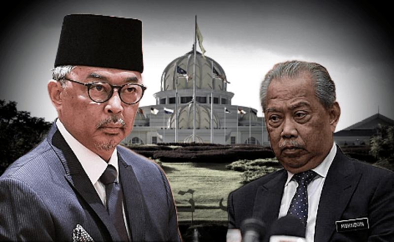 Muhyiddin gagal, rakyat mengharap campur tangan Istana
