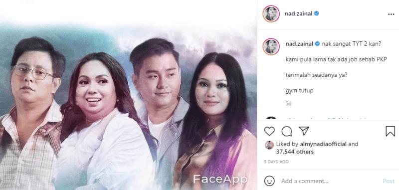 Tengok Artis Pujaan Tembam - Zizan Paling Comel.